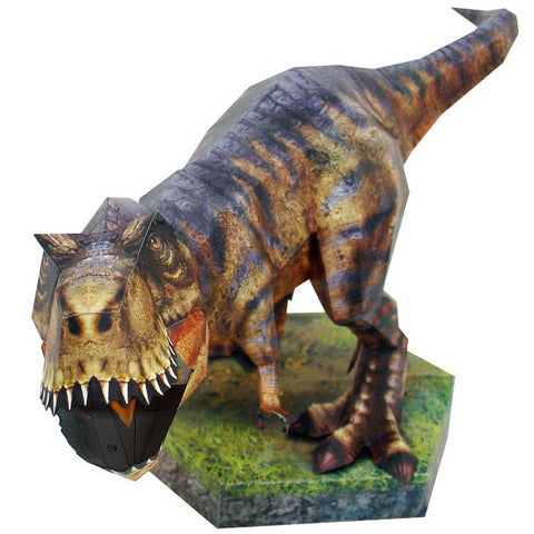 Tyrannosaur 3D Paper Toy - (Tyrannosaurus) Save  View More Duplicate