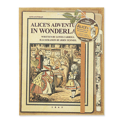 150th Anniversary Limited Edition Line Note Box Set - Alice in Wonderland