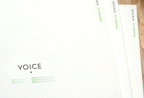Notebook 601 - Voice - Green