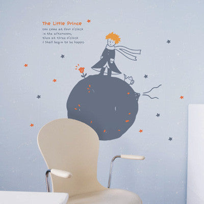 Wall Deco Vinyl - The Little Prince & B612