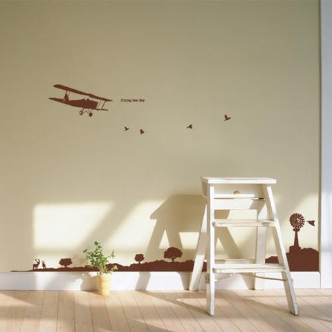 Wall Deco Vinyl - Beautiful Flight