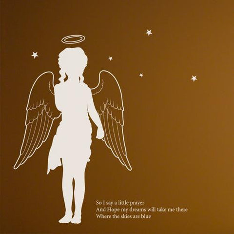 Wall Deco Vinyl - Little Angel