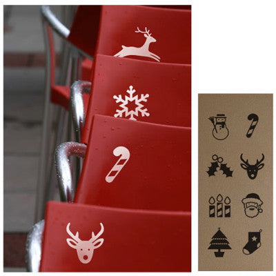 Wall Deco Vinyl - Christmas Icons