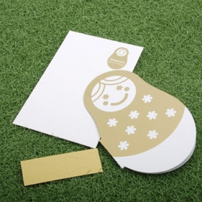 MATRYOSHKA Card - 03 - Gold