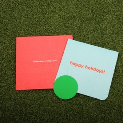Message Card MMMG - 02 Happy Holidays