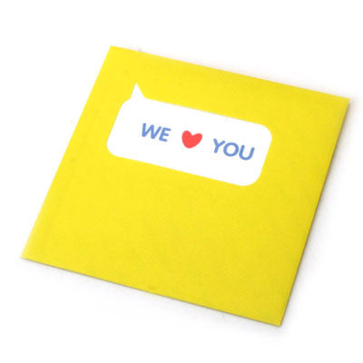Say Card MMMG - 01 We Love You