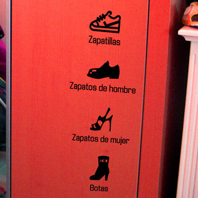 Life Sticker - Zapatos