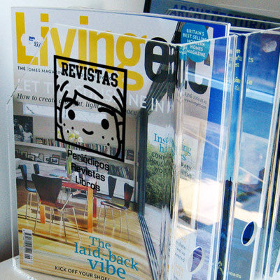 Life Sticker - Revistas