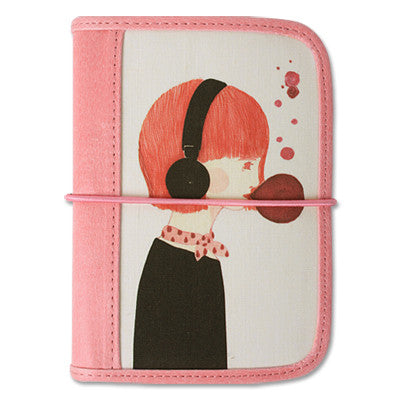Card Case Bomroya - Red Rabbit