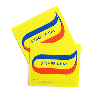 Sticker MMMG 03 - Day-Yellow