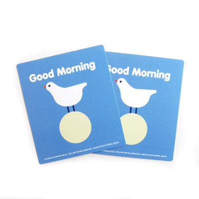 Sticker MMMG 03 - Good Morning - Blue