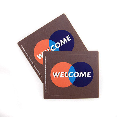 Sticker MMMG 03 - Welcome