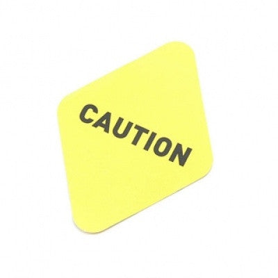 Sticker MMMG - Caution