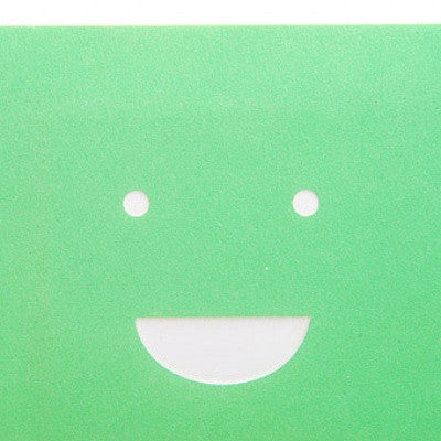 Smile Mask Card MMMG 02 - Green