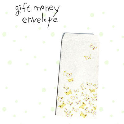Gift Money Envelope - Butterfly