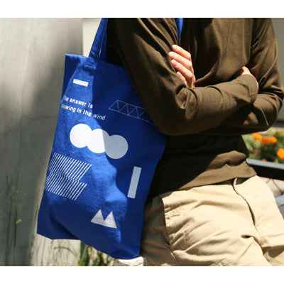 Recycle Daily Bag - 01 Blue Answer