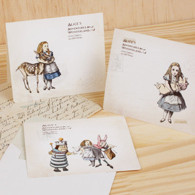Alice in Wonderland Seal Card Collection