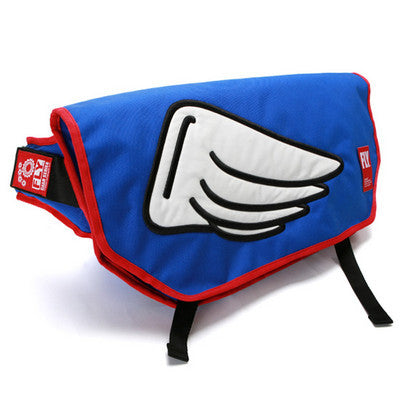 Googims Messenger Bag - 322 - Blue - Large
