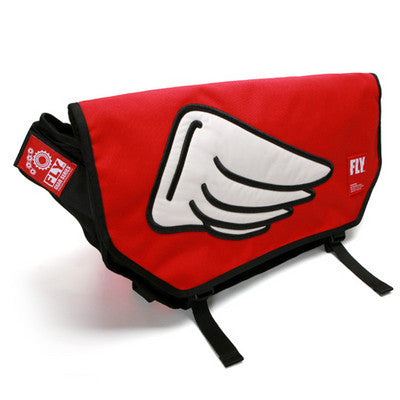 Googims Messenger Bag - 322 - Red - Large