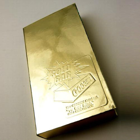 Googims Notebook - Gold Bar