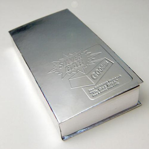 Googims Notebook - Silver Bar