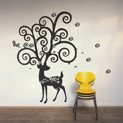 Wall Deco Vinyl - Deer