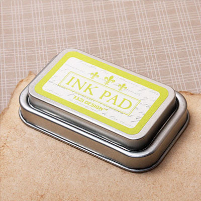 Oil Based Ink Pad - Lime