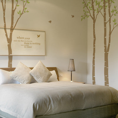 Wall Deco Vinyl - Birch Grove 3