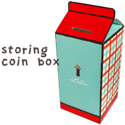 Storing Coin Box - Red Cafe