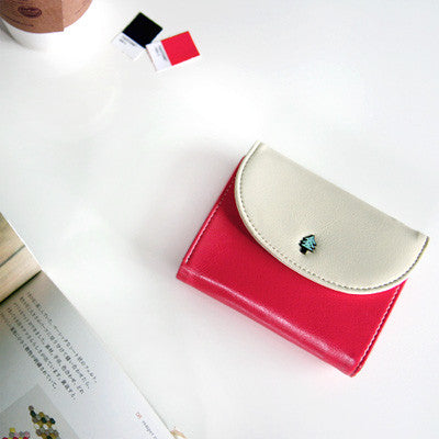 Handy Wallet Round - Pinkred