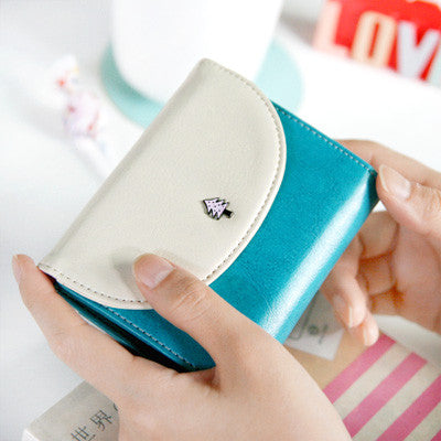 Handy Wallet Round - Fresh Blue
