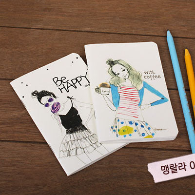 Mini Notebook Set - Lovely - Maenglalla 03