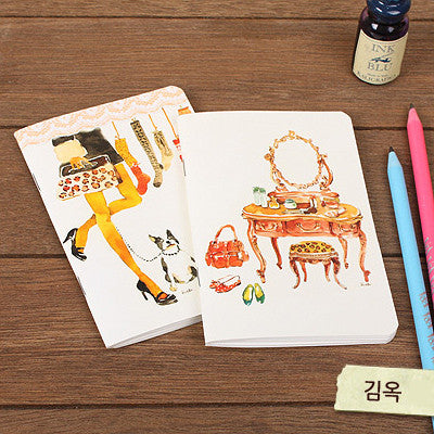 Mini Notebook Set - Lovely - Kimok 01