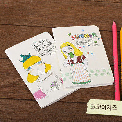 Mini Notebook Set - Lovely - Cocoacheese 02
