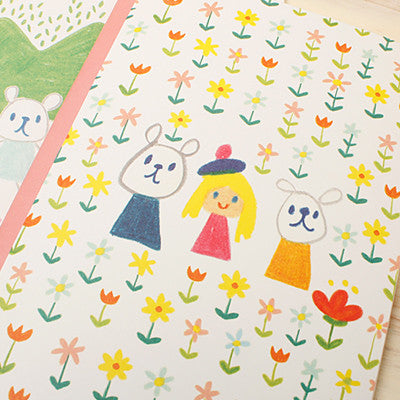 Notebook - Okaytina - Flower Garden