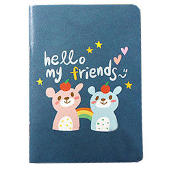 Mini Notebook Set - Lovely - Okaytina 02 - Hello My Friends - OK9625