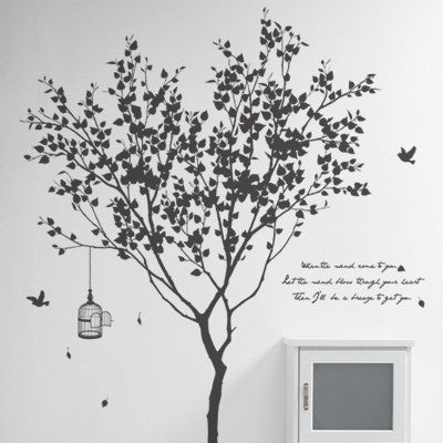 Wall Deco Vinyl - Little Garden