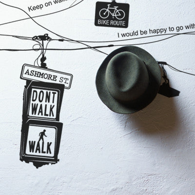 Wall Deco Vinyl - Non Traffic to You