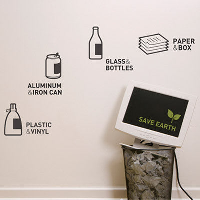 Wall Deco Vinyl - Recycle