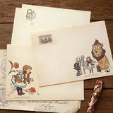 Letter Sheet + Envelope - The Wizard of Oz - 03