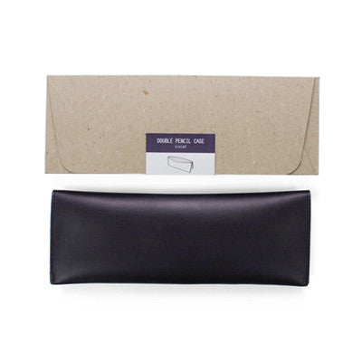 Ecology Double Pencil Case - Violet