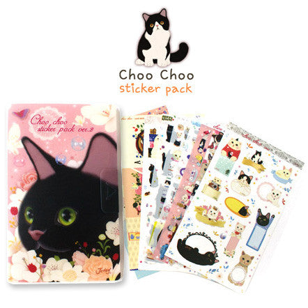 Choo Choo Sticker Pack Ver.2 - Pink