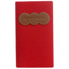 Card Case Teddy - Red