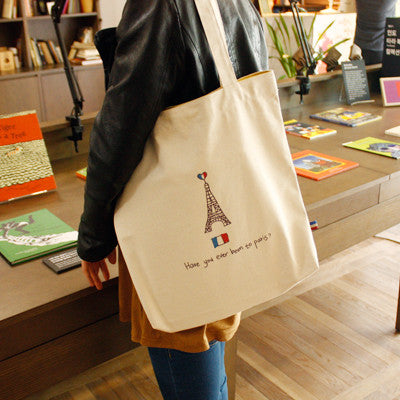 Canvas Bag Paris