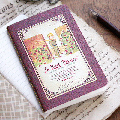 Stitch Notebook - The Little Prince - Never Ending - Line Note
