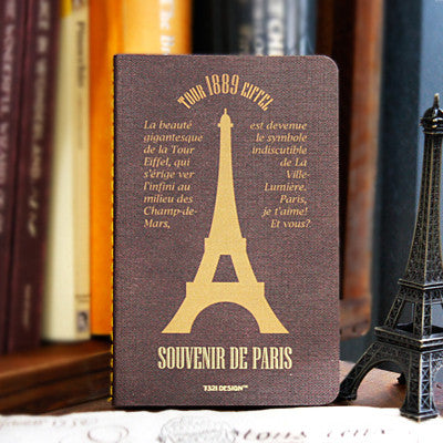 Stitch Notebook - Paris - Never Ending - Line Note