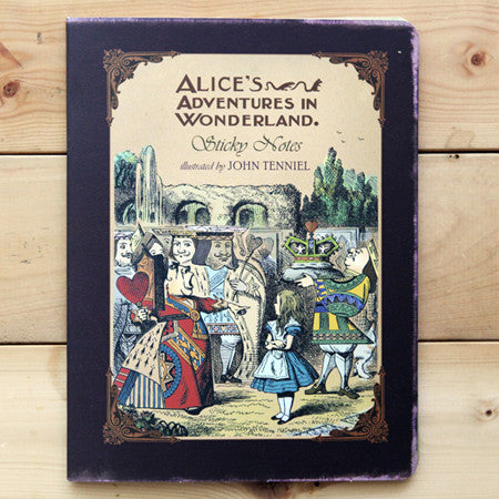 Sticky Notes Alice in Wonderland - AL4235