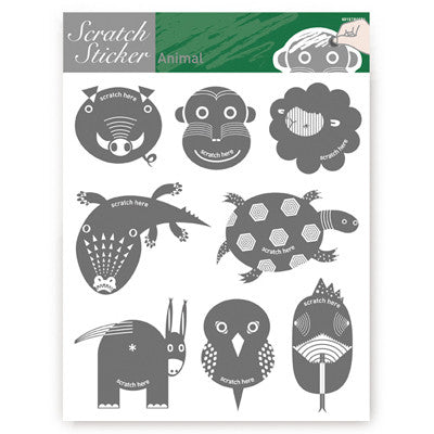 Scratch Sticker 601 - Animals