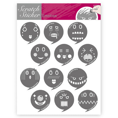 Scratch Sticker 601 - Emotion