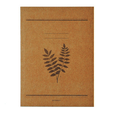 Notebook 601 - Brown Leaves